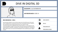 DIVE IN DIGITAL 3D