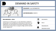 DEMAND IN SAFETY