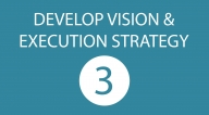 DEVELOP VISION & EXECUTION STRATEGY